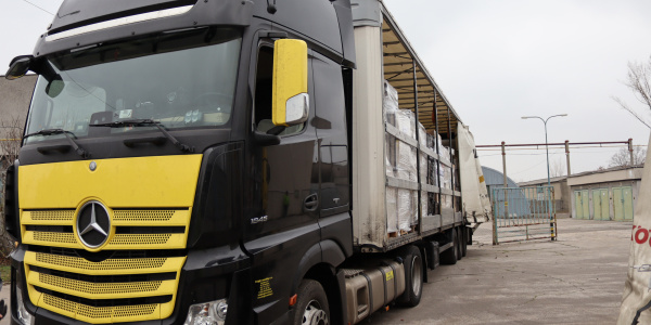 Humanitarian aid from Bratislava to Bosnia and Herzegovina 5/12/2019