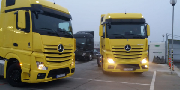 New Mercedes Benz Actros 2020